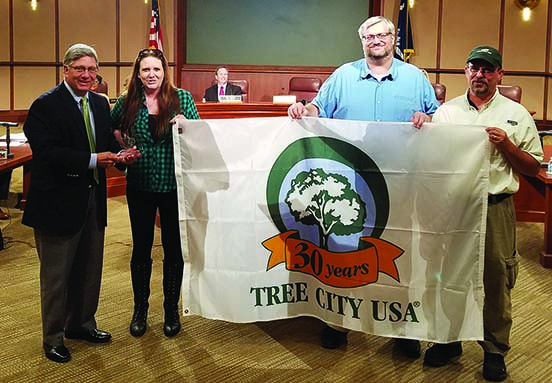 Tree City USA 30 years