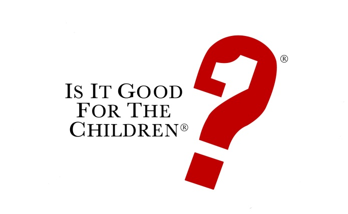 Is It Good for the Children Logo
