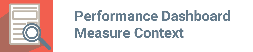 Performance Dashboard Measure Context